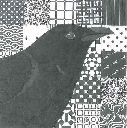 Crow Wildlife Collage